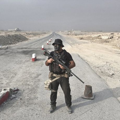 Nhung sac ao chien binh trong luc luong giai phong Mosul - Anh 2