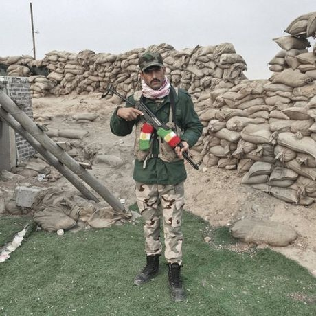 Nhung sac ao chien binh trong luc luong giai phong Mosul - Anh 3