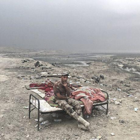 Nhung sac ao chien binh trong luc luong giai phong Mosul - Anh 5