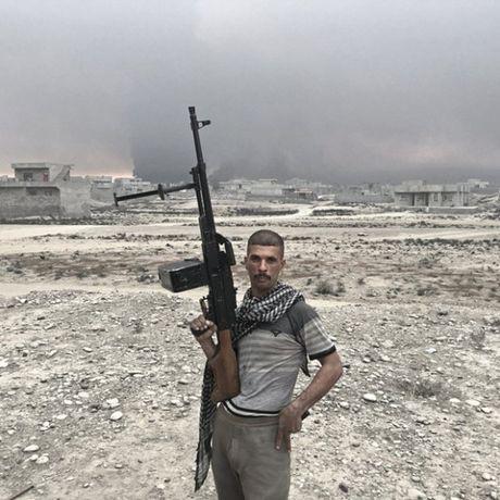 Nhung sac ao chien binh trong luc luong giai phong Mosul - Anh 7