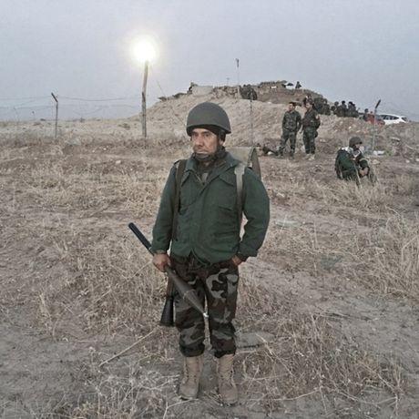 Nhung sac ao chien binh trong luc luong giai phong Mosul - Anh 9