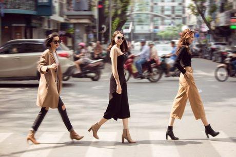 Phuong Anh - Le Ha - Kim Chi: Ai dep hon voi street style thu dong tren pho? - Anh 11