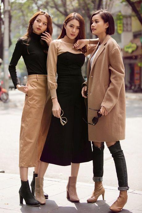 Phuong Anh - Le Ha - Kim Chi: Ai dep hon voi street style thu dong tren pho? - Anh 12