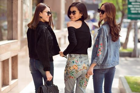 Phuong Anh - Le Ha - Kim Chi: Ai dep hon voi street style thu dong tren pho? - Anh 14