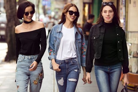 Phuong Anh - Le Ha - Kim Chi: Ai dep hon voi street style thu dong tren pho? - Anh 15