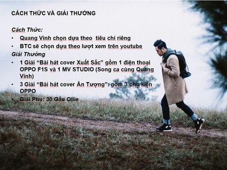 Quang Vinh gay bat ngo khi he lo se thuc hien MV song ca cung fan - Anh 4