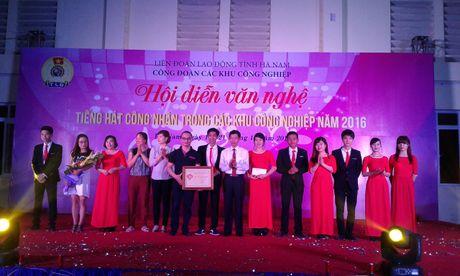 CD cac KCN tinh Ha Nam: To chuc Hoi dien van nghe 'Tieng hat cong nhan nam 2016' - Anh 1