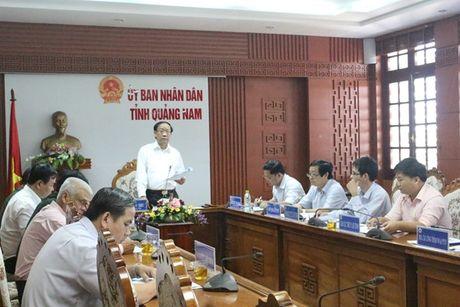 Quang Nam: Bat an voi cong tac van hanh cac ho thuy dien trong mua lu theo quy trinh 1537 - Anh 1