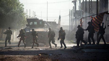Mot thang trien khai chien dich tai chiem Mosul tu tay IS - Anh 1