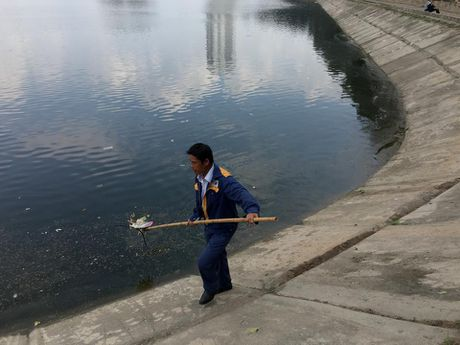 Ha Noi: Bao cao su noi trang ho Linh Dam - Anh 7