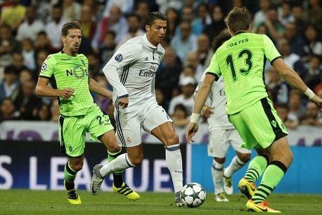 Nhan dinh, du doan ket qua ty so tran Sporting Lisbon - Real Madrid - Anh 1