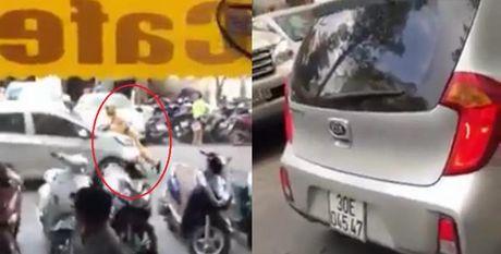 Dieu tra tai xe taxi Uber hat CSGT Ha Noi len nap capo - Anh 1