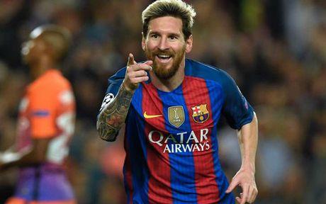 Cuoc dua 'vua pha luoi' Champions League 16/17: Messi bo xa Ronaldo - Anh 14