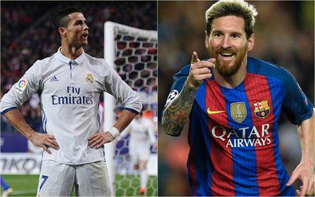 Cuoc dua 'vua pha luoi' Champions League 16/17: Messi bo xa Ronaldo - Anh 1