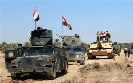 Iraq da giai phong duoc 1/3 dien tich thanh pho Mosul khoi tay IS - Anh 1