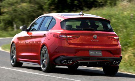Alfa Romeo Giulietta moi se so huu ngoai hinh nhu the nao? - Anh 2