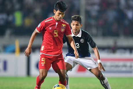 Clip Myanmar ha Campuchia, 'day' Viet Nam vao ban ket AFF Cup 2016 - Anh 1