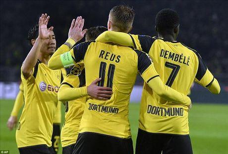Dortmund 8-4 Legia: Marco Reus, Kagawa va su dien ro - Anh 1