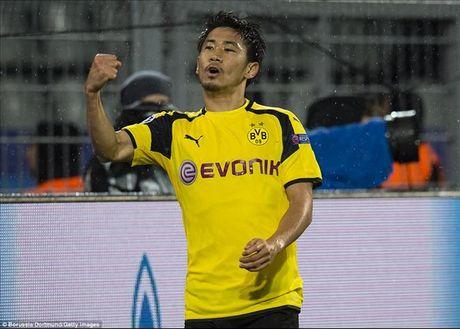 Dortmund 8-4 Legia: Marco Reus, Kagawa va su dien ro - Anh 2