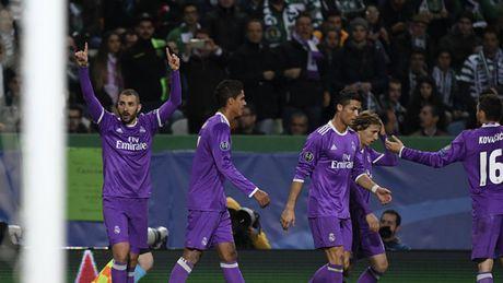 5 diem nhan Sporting 1-2 Real Madrid: Du o Madrid, Manchester hay Lisbon, Ronaldo van la mot bieu tuong - Anh 2
