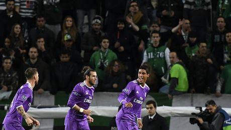 5 diem nhan Sporting 1-2 Real Madrid: Du o Madrid, Manchester hay Lisbon, Ronaldo van la mot bieu tuong - Anh 3