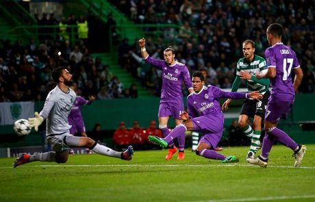 5 diem nhan Sporting 1-2 Real Madrid: Du o Madrid, Manchester hay Lisbon, Ronaldo van la mot bieu tuong - Anh 4