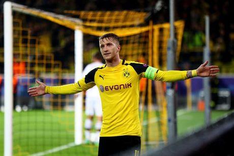 Ghi 8 ban, Reus lap hat-trick, Dortmund 'dan mat' ca troi Au - Anh 7