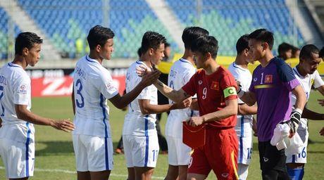 Cham diem DT Viet Nam vs Malaysia: Goi ten Trong Hoang - Anh 1