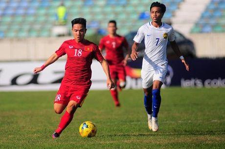 Cham diem DT Viet Nam vs Malaysia: Goi ten Trong Hoang - Anh 3