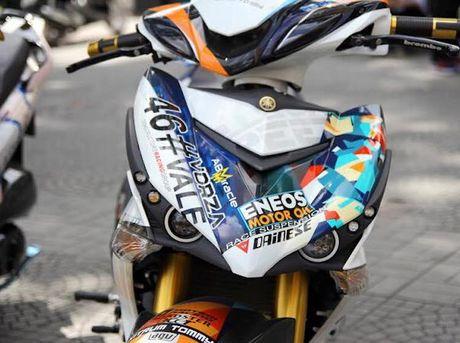 Yamaha Exciter 135 'khung nhat Viet Nam' do hon 300 trieu - Anh 1