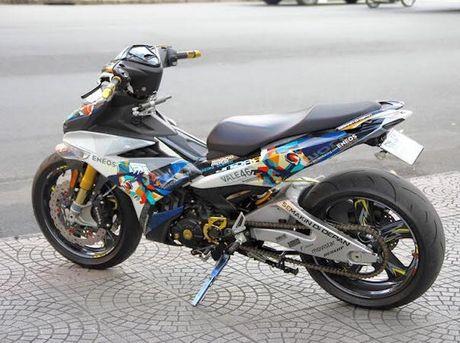 Yamaha Exciter 135 'khung nhat Viet Nam' do hon 300 trieu - Anh 2