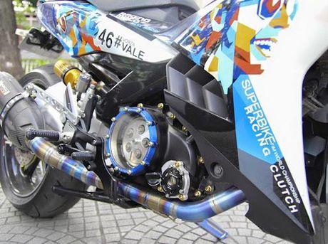 Yamaha Exciter 135 'khung nhat Viet Nam' do hon 300 trieu - Anh 7