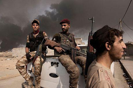 Noi kinh hoang cua dan ti nan chay khoi Mosul - Anh 11