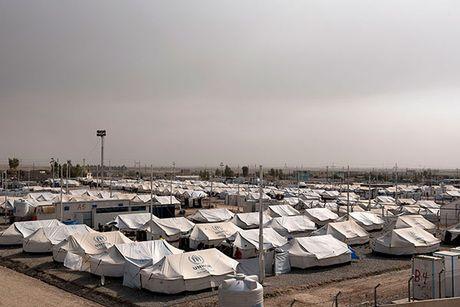 Noi kinh hoang cua dan ti nan chay khoi Mosul - Anh 3