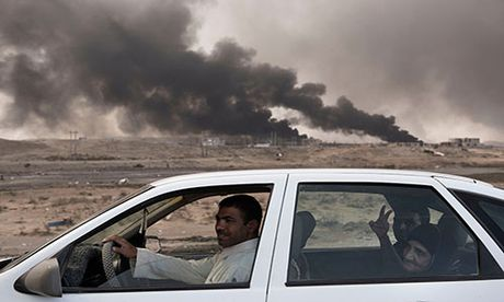 Noi kinh hoang cua dan ti nan chay khoi Mosul - Anh 4