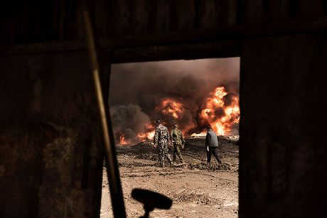 Noi kinh hoang cua dan ti nan chay khoi Mosul - Anh 6
