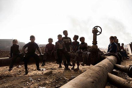 Noi kinh hoang cua dan ti nan chay khoi Mosul - Anh 7