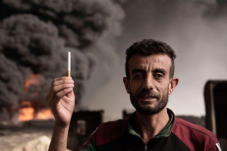 Noi kinh hoang cua dan ti nan chay khoi Mosul - Anh 8