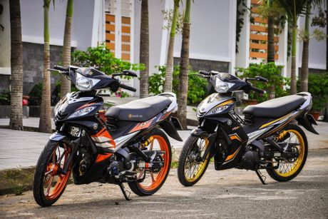 Bo doi Yamaha Exciter do khung cua dan choi Can Tho - Anh 1