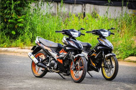 Bo doi Yamaha Exciter do khung cua dan choi Can Tho - Anh 2