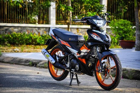 Bo doi Yamaha Exciter do khung cua dan choi Can Tho - Anh 3