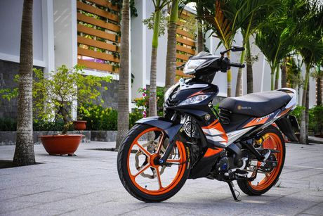 Bo doi Yamaha Exciter do khung cua dan choi Can Tho - Anh 4