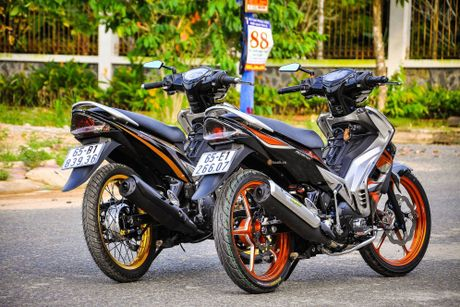 Bo doi Yamaha Exciter do khung cua dan choi Can Tho - Anh 8