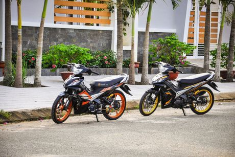Bo doi Yamaha Exciter do khung cua dan choi Can Tho - Anh 9