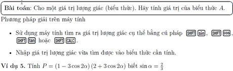 Su dung may tinh trong giai toan trac nghiem luong giac lop 10 - Anh 7