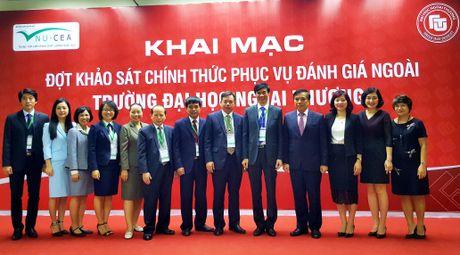 Khao sat danh gia ngoai Truong Dai hoc Ngoai thuong - Anh 1