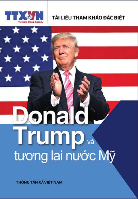 Sach moi: Donald Trump va tuong lai nuoc My - Anh 1