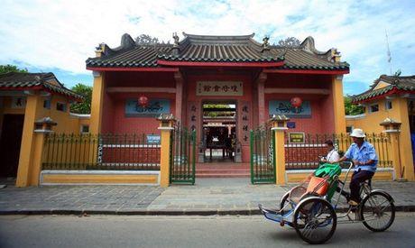 Khai truong Hoi quan Hai Nam tai Hoi An - Anh 1