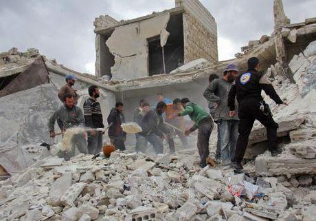 "Phap to Syria tranh thu roi ren bau cu My phat dong ""chien tranh tong luc"" - Anh 1"