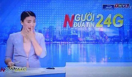 MC Tuyet Vinh vo tu ngoay mui tren song truyen hinh - Anh 1